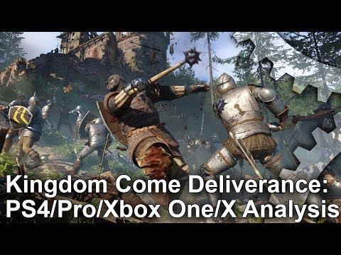 Xxx Mp4 Kingdom Come Deliverance PS4 Pro Vs Xbox One X Graphics Comparison Frame Rate Test 3gp Sex