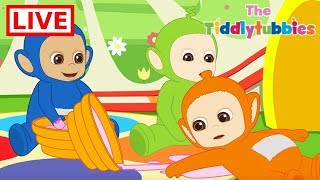 🔴 LIVE Teletubbies ★ NEW Tiddlytubbies LIVE Cartoons ★ New Cartoon Episodes 1-4 ★ Cartoons for Kids