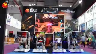 VR technology robot shaped 9d vr