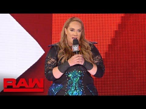Xxx Mp4 Nia Jax S Rematch Against Alexa Bliss Gets Extreme Raw July 2 2018 3gp Sex