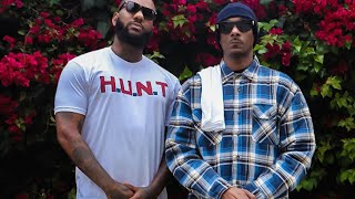 Snoop Dogg And The Game Hold Peace Rally Alongside LAPD