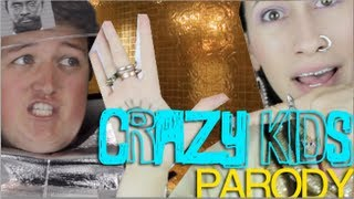 Crazy Kids by Kesha (feat Will.I.Am) - Official Music Video PARODY