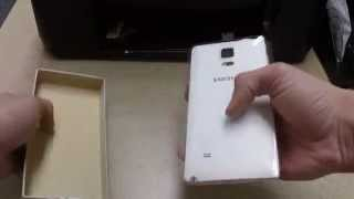 Jhonny Quick Unboxing Samsung Galaxy Note 4 4G LTE N910C Unlocked GSM