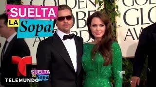 Suelta La Sopa   Causas de divorcio de Angelina Jolie y Brad Pitt   Entretenimiento