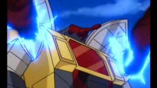 Omega Supreme fights at the Golden Lagoon