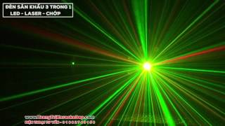Đèn LED Vũ Trường Mazada 3 hiêu ứng trong 1