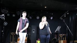 Damien Douglass & Amy Smith cover Blanc Space by Taylor Swift live