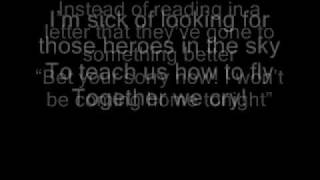 We Cry by The Script - With lyrics on screen