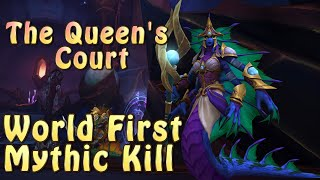 World First Mythic Kill | The Queen's Court, Azshara's Eternal Palace | Method