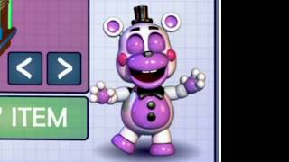 1 hour of Dancing Toy Funtime Freddy from FNAF 6