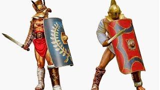 Gladiators - Types Classes and Equipment