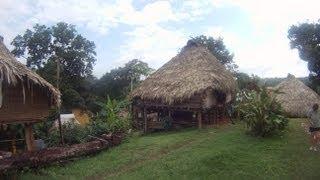 A Visit to Embera Indian Village of Panama