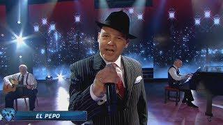 El Pepo sorprendió a todos cantando el tango