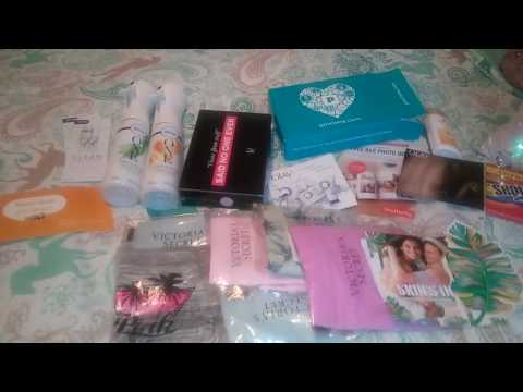 MAIL/VS PINK/PINCHME/BZZAGENT/KOTEX FREE SAMPLES