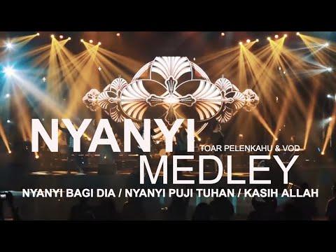 NYANYI Medley by Toar Pelenkahu & VOD at Indonesia Gospel Festival 2017