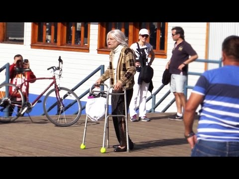 Granny Gone Wild Prank
