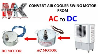 how to convert motor from ac to dc