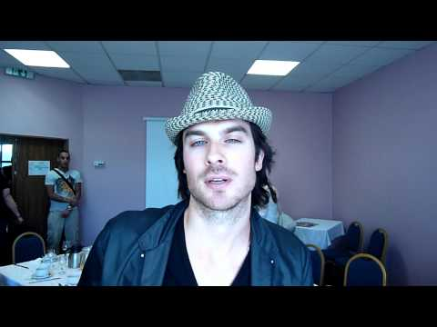 Ian Somerhalder wishes Canvas Warriors Cousins a happy be-lated birthday!