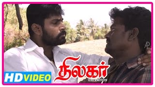 Thilagar Tamil Movie | Scenes | Dhruvva threatens Poo Ram