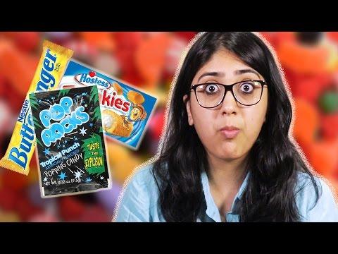Indians Taste Test American Sweets