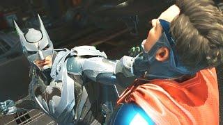 Injustice 2 Walkthrough - Good Ending - Story Chapter 12: Batman Absolute Justice (1080p 60FPS)