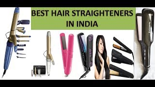 Top 10 Best Hair Straightener In India with Price | Best hair straightener 2018 in india