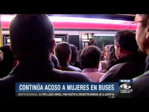 Aumentan denuncias de abusos contra mujeres en TransMilenio 23 de julio de 2013