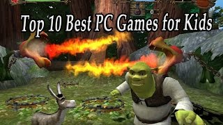 Top 10 Best PC Games for Children. Greatest PC Kids Games.