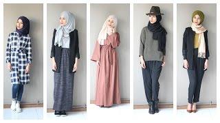 Une semaine d'OOTD  Hijab avec Jennah-boutique
