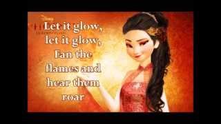 Let It Glow: A Fire Elsa Parody