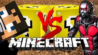 Minecraft: MUDDY LUCKY BLOCK CHALLENGE | Derp Crundee VS Ant-Man