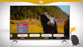 Conoce cómo configurar el 3D de tu TV LG con LG Smart+ TV con webOS