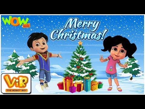 Xxx Mp4 Vir The Robot Boy Christmas Special Compilation Cartoon For Kids WowKidz 3gp Sex