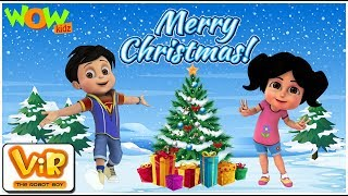 Vir: The Robot Boy | Christmas Special Compilation | Cartoon for Kids | Wow Kidz