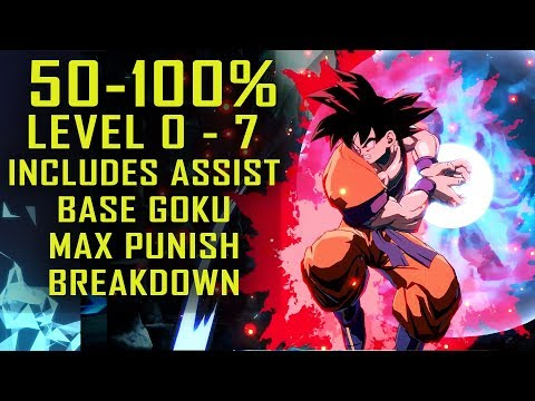 Xxx Mp4 Dragonball FighterZ Base Goku Extended Combo Full Guide Level 0 7 3gp Sex