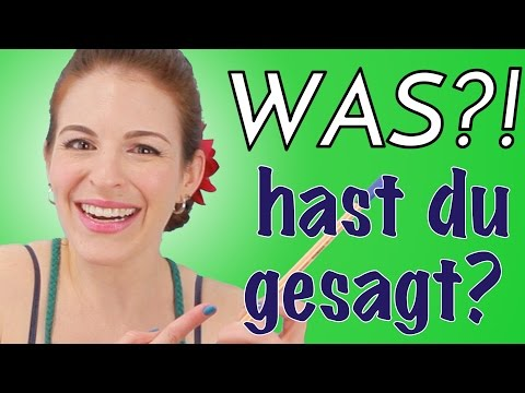 Funny Things I Say in German