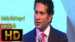 Celebrity Cricket League 4 Launch By Sachin