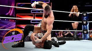 Mike Kanellis interrupts the match between Lince Dorado and Lio Rush: WWE 205 Live, Oct. 10, 2018