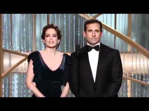 Golden Globe Tina Fey and Steve Carell