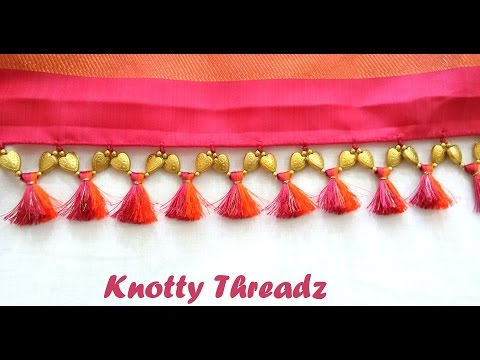 Xxx Mp4 How To Make Double Colored Saree Kuchu Tassels Using Silk Thread And Beads At Home Tutorial 3gp Sex
