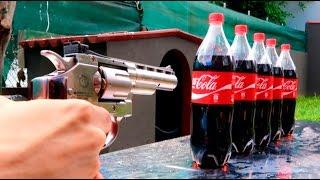 REVOLVER VS COCA COLA !! (SALE MAL) Makiman