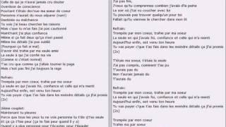 Download vitaa ma soeur paroles lyrics lagu mp3 video for Dabs je craque parole