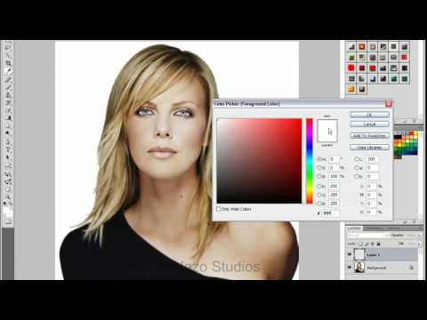 Tutorial Photoshop Cambiar color de pelo