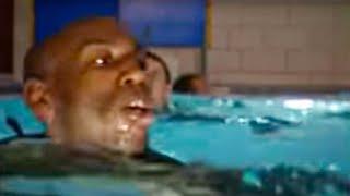 Endurance swimming - SAS - Are You Tough Enough? - BBC action