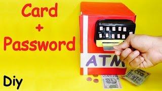 How to Make Piggy Bank ATM Machine at Home | DIY Craft for Kids