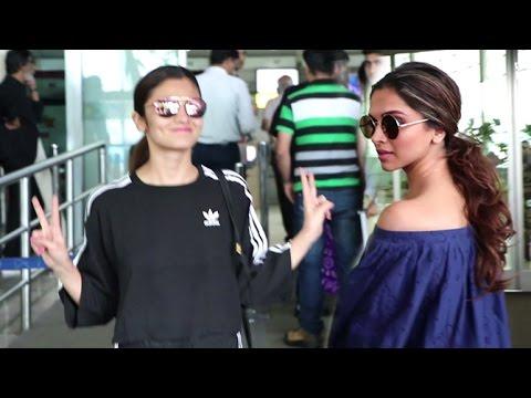 Xxx Mp4 Airport Spotting 20th July 2016 Deepika Padukone Alia Bhatt Sonali Bendre 3gp Sex
