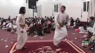حسين محب ورقصة جميل العنسي في أفرآح آل الزاهري الكميم