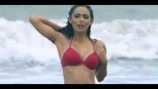 Madhurima Tuli  In Red Hot Bikini