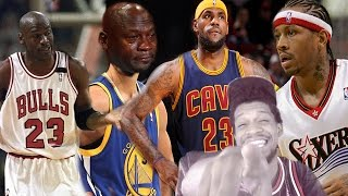 LMFAOOO NO CURRY!!! NBA BEST PLAYER EVER BY TEAM REACTION!