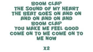 CHARLI XCX - Boom Clap (Lyrics)